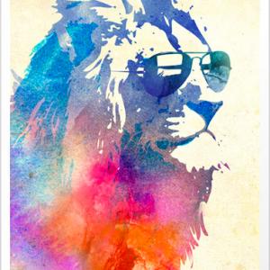 Sunny leo Abstract art