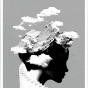 'It's a cloudy day' Abstract Art by Robert Farkas