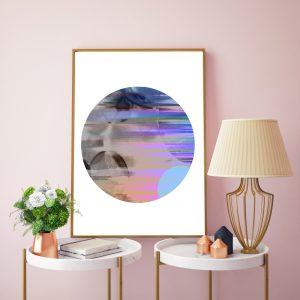 Round 2 Blur Digital Print